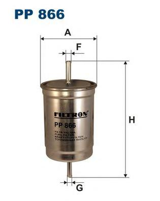 PP866 Фильтр топливный VOLVO 850/FORD ESCORT -92