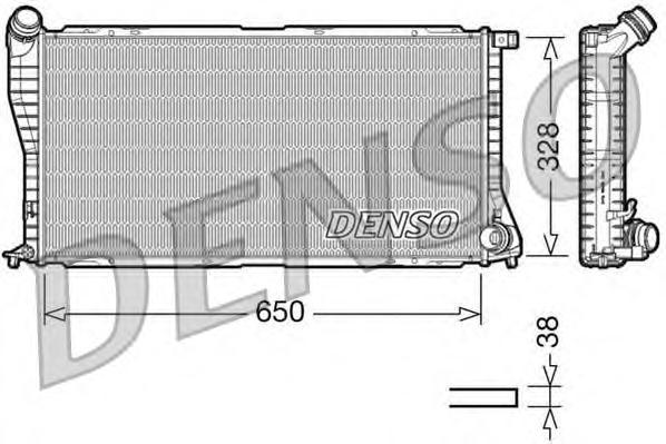 DRM05002 Радиатор системы охлаждения BMW: E38 730/740 - E39 520 / 525 / 530