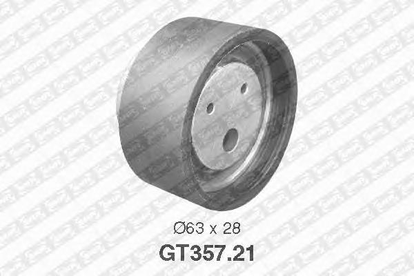 GT35721 Деталь SK SNR Pолик ГPМ, натяжной