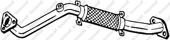 803007 Труба приемная NISSAN PRIMERA 1.6/1.8 99-02