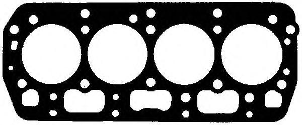 0050035 Прокладка ГБЦ SKODA FABIA 1.4L