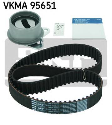 VKMA95651 Комплект ремня ГРМ MITSUBISHI COLT/LANCER/SPACE STAR 1.3/1.6 95-