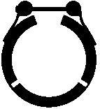 259900 Хомут глушителя VAG A3/OCTAVIA/GOLF/TOURAN 1.9/2.0 2003=