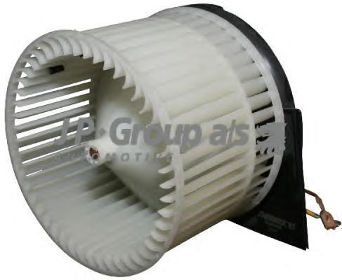 1226100200 Мотор отопителя салона с крыльчаткой / OPEL Vectra B (без конд)