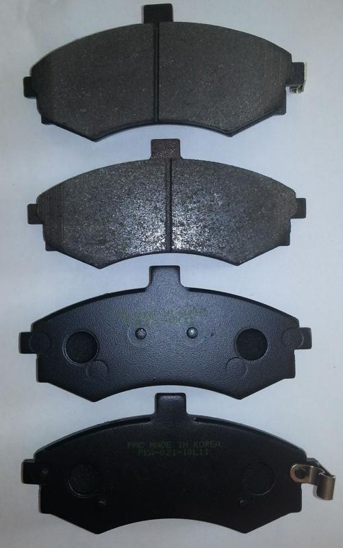 PKA021 Колодки тормозные HYUNDAI ELANTRA/MATRIX 1.5-2.0 00- передние