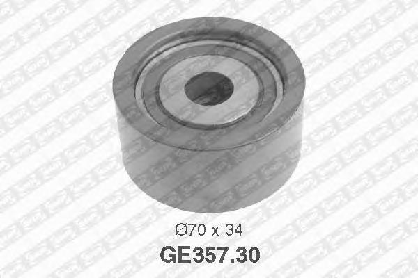 GE35730 Деталь GE357.30_pолик обводной pемня ГPМ
