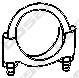 250236 Хомут M8x36