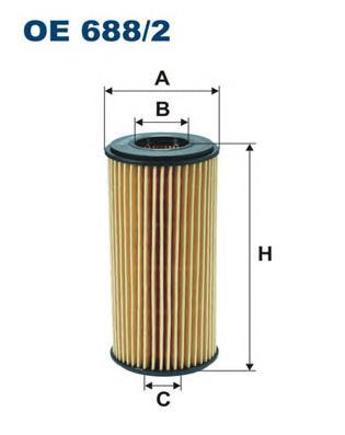OE6882 Фильтр масляный VAG CJSA/CJSB/CJXC/CJEB/CABD/CDNA/CNCB/CNCD