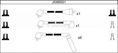 j5385021 Комплект проводов зажигания