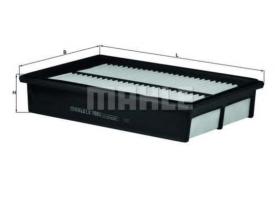 LX1688 Фильтр воздушный MAZDA 3/5 1.8-2.0 03-