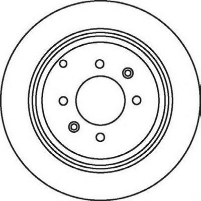 562042j Тормозной диск