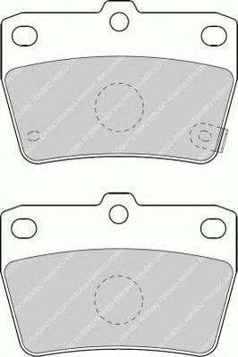 FDB1531 Колодки тормозные TOYOTA RAV 4 II 1.8-2.0 00-05 задние