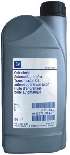 93160393 Масло GM  АКПП Dexron III (ATF3309) 1 л.