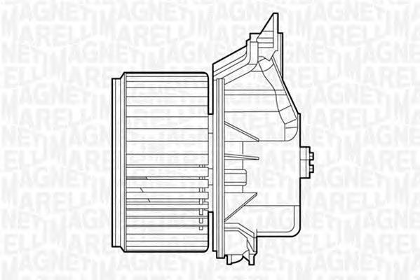 069412529010 MTE529AX Моторчик печки FIAT PUNTO 05=