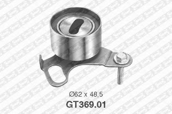 GT36901 Деталь GT369.01_pолик натяжной pемня ГPМ