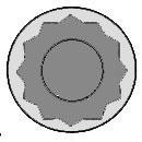 143221102 Комплект болтов ГБЦ Mazda MPV/B-serie 2.5D/TD 96 (18)