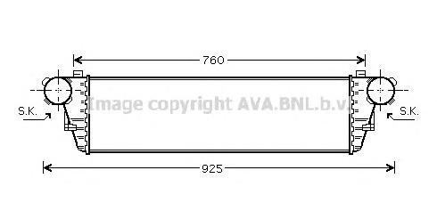 ms4380 Интеркулер