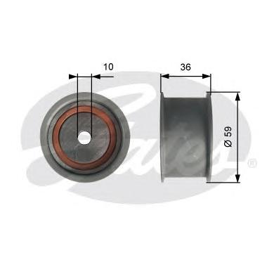 T41227 Ролик ремня ГРМ AUDI A4/A6/A8/VW PASSAT 2.8