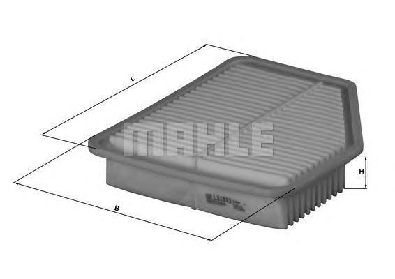 LX1613 Фильтр воздушный TOYOTA LEXUS GS300/430/450 00-05/05-