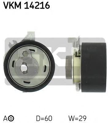 VKM14216 Ролик натяжной ремня ГРМ Ford. Mazda 2.0 16V 00