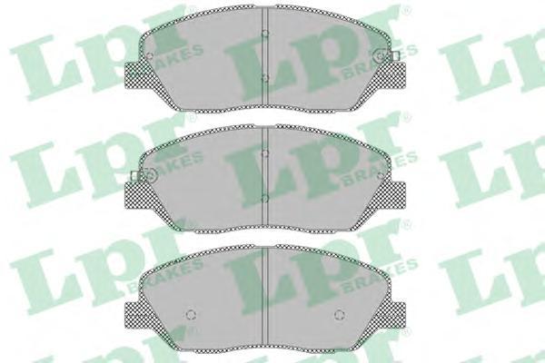 05P1382 Колодки тормозные HYUNDAI SANTA FE (CM)/(SM) 05-/KIA SORENTO (XM) 09- передние