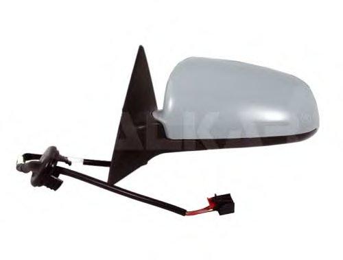 PMG0221M02 Зеркало наружное в сборе прав, электр, с подогр, выпукл, грунт AUDI: A6 (4F) - 05/04-06/06