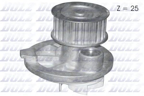 O139 Насос водяной Opel Astra/Vectra/Omega/Zafira/Calibra 1.8-2.2 16V 94-