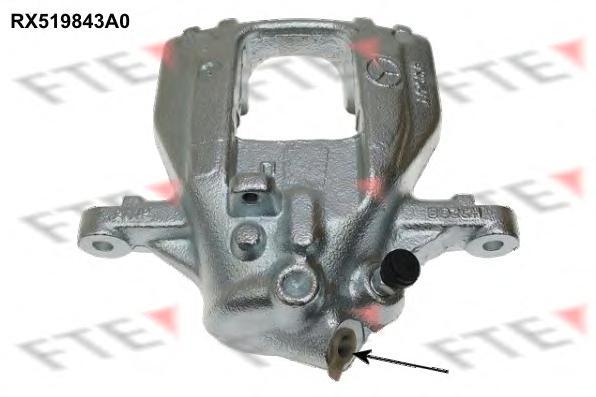 RX519843A0 Тормозной суппорт Re R MB, VAG Crafter восст.