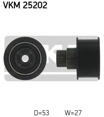 VKM25202 Ролик промежуточный ремня ГРМ Opel Astra/Kadett/Vectra 1.7D 92