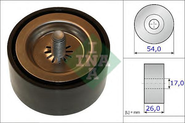 532067210 Ролик ремня приводного MB SPRINTER 2.2D 09- 54x26