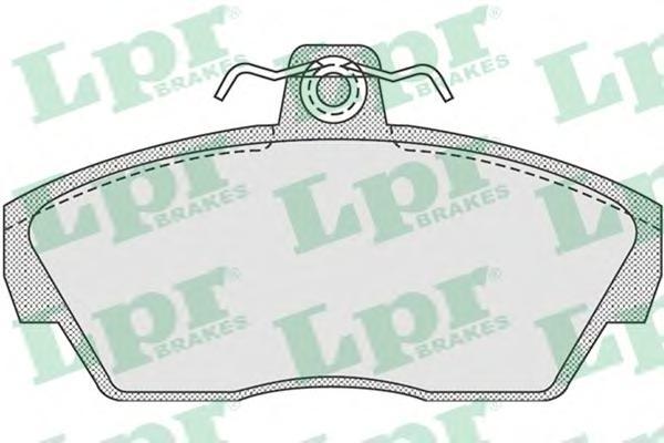 05P922 Колодки тормозные LAND ROVER FREELANDER 98-06 передние