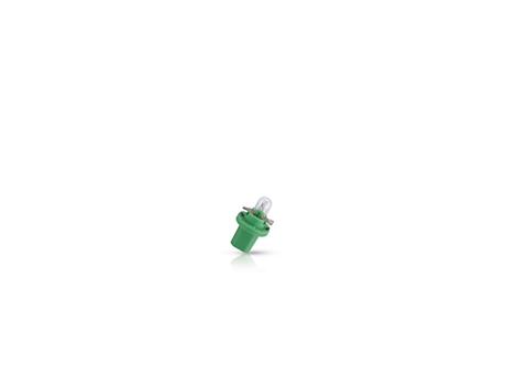 12604CP Лампа BAX 12V 2W B8.5d green