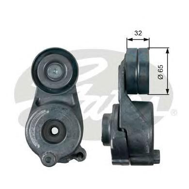 T39208 Натяжитель ремня приводного MB W463/164/251/221 280/320CDI 05-