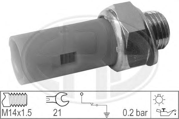 330027 Датчик давления масла OPEL /RENAULT