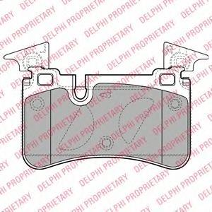 LP2151 Колодки тормозные W204/C218/W212 63AMG 08- задние