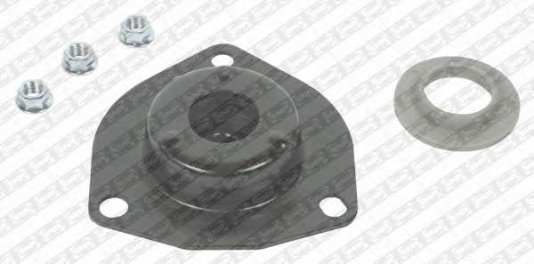 KB66802 Опора амортизатора NISSAN PRIMERA P12 02- пер.(с подшипником)