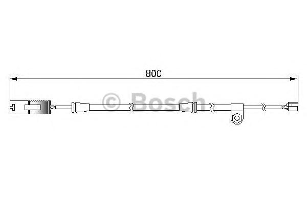 1987474945 Датчик износа торм.колодок BMW E53 3.0-4.8 пер.