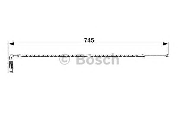 1987473000 Датчик износа торм.колодок BMW E83