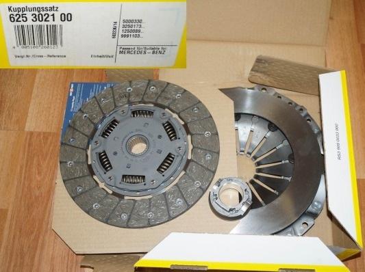 625302100 Сцепление к-т MB SPRINTER/VARIO 2.9D/4.3D 9506