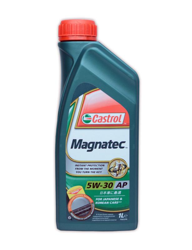 155BA7 Масло моторное 5W30 CASTROL 1л MAGNATEC АP