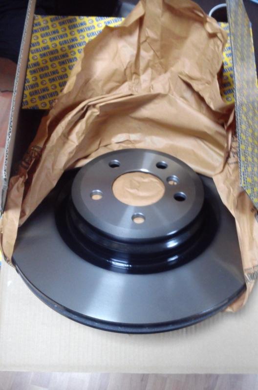 6063115 Диск тормозной BMW F01/07 08- задний вент.