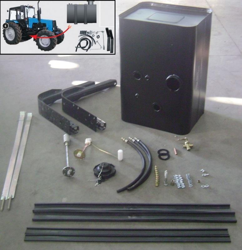 Комплект радиатора водяного МТЗ-1221 (7 рядов) с 11-ти.