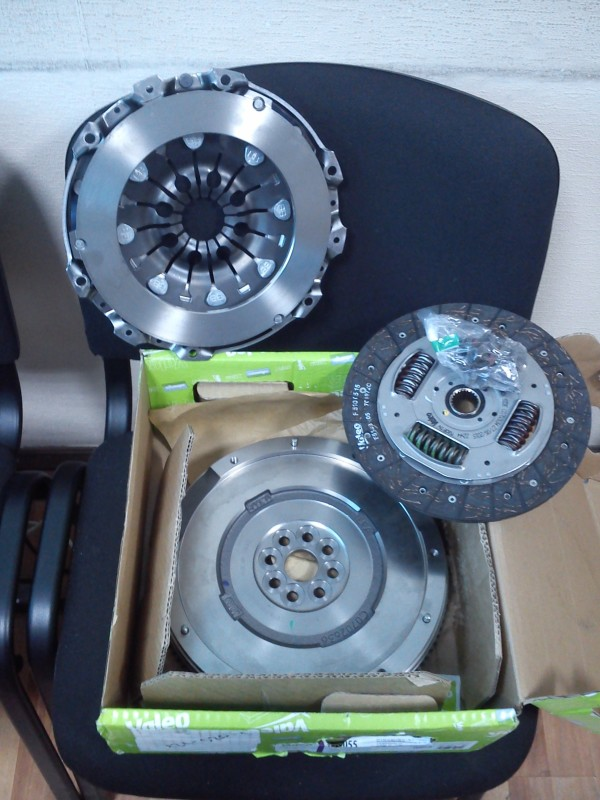 835055 Комплект сцепления FORD Galaxy 1.8 Diesel 4/2006-4/2010