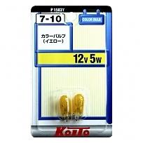 P1583Y Лампа 12V5W желтый (2 шт)