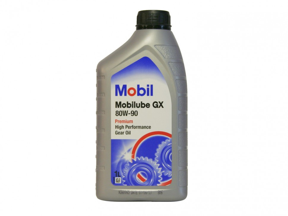 152660 Масло трансмиссионное 80W90 MOBIL 1л MOBILUBE GX