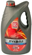 LUKOIL 19192 Масло моторное LUKOIL SUPERSEMI-SYNTHETIC 10W-40 10W-40 полусинтетика 4 л.