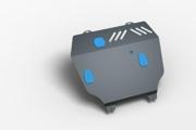 Комплект: защита картера и крепеж Novline-Autofamily Lifan X60 2012: 1,8 бензин МКПП - фото 6