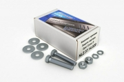 Комплект: защита картера и крепеж Novline-Autofamily Nissan Note 2006: 1,6 бензин МКПП/АКПП - фото 10