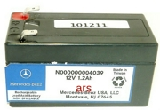 MERCEDES-BENZ N000000004039 CAR BATTERY