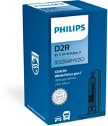 Philips 85126WHV2C1 Лампа D2R 85V(35W) White Vision (gen2) 1шт. картон